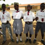 The Water Project: Rowana Junior Secondary School -  Students Displaying Bad Hygiene Poster