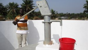 The Water Project:  Testing Pump