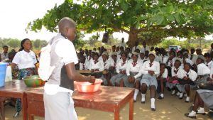 The Water Project:  Three Handwashing System Demonstration