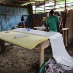 The Water Project: Lungi, Rotifunk, 1 Aminata Lane -  Clothes Making