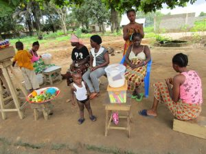 The Water Project:  Community Members Selling Items