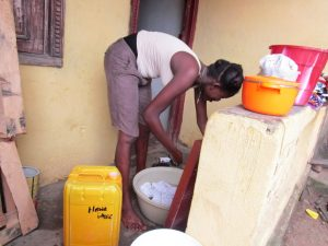 The Water Project:  Washing Clothes