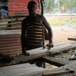 The Water Project: Lungi, Rotifunk, 1 Aminata Lane -  Woodworking
