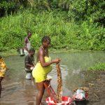 The Water Project: Lokomasama, Gbonkogbonko, Kankalay Primary School -  Community Activity Community Members Laundring