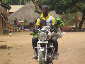 The Water Project:  Community Activity Motor Bike Transportation