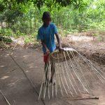 The Water Project: Lokomasama, Gbonkogbonko, Kankalay Primary School -  Community Activity Young Boy Preparing Basket