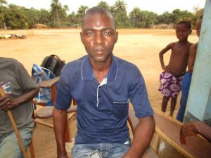 The Water Project:  Mr Hassan Bangura