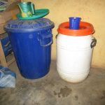 The Water Project: Lokomasama, Gbonkogbonko, Kankalay Primary School -  Water Storage