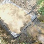The Water Project: Munenga Community, Burudi Spring -  Laying The Foundation