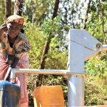 The Water Project: Ivumbu Community A -  Reliable Water