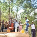 The Water Project: Ivumbu Community A -  Thumbs Up