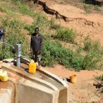 The Water Project: Ivumbu Community A -  Well