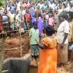 The Water Project: Mutao Community, Shimenga Spring -  Training On Spring Care