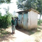 The Water Project: Mukangu Primary School -  Latrines
