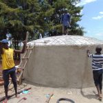 The Water Project: Musasa Secondary School -  Rain Tank Is Born