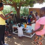 The Water Project: Musango Community, Mushikhulu Spring -  Handwashing Training