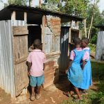 The Water Project: Kapchorwa Primary School -  Latrine Line