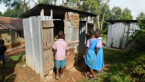 The Water Project:  Latrine Line