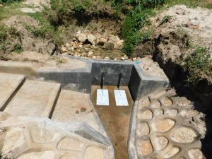The Water Project:  Construction Complete