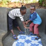 The Water Project: Eshiakhulo Community, Kweyu Spring -  Handwashing With Joy