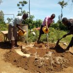 The Water Project: Munyanza Primary School -  Water For Mixing Cement