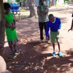 The Water Project: Essongolo Primary School -  Teamwork Exercise