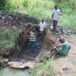 The Water Project: Malava Community, Ndevera Spring -  Excavation