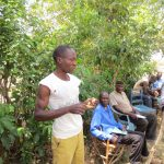 The Water Project: Mukhuyu Community, Kwawanzala Spring -  Toothbrushing Training