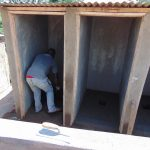 The Water Project: Musasa Secondary School -  Finishing The Latrines