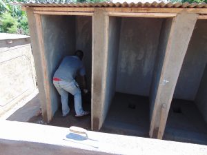 The Water Project:  Finishing The Latrines