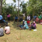 The Water Project: Mukhuyu Community, Kwawanzala Spring -  Training