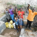 Shihingo Community, Mangweli Spring Project Complete!