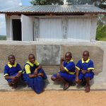 The Water Project: Ibwali Primary School -  Showcasing Latrines