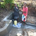 The Water Project: Eshiakhulo Community, Kweyu Spring -  Satisfied Beneficiaries