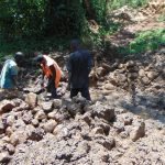 The Water Project: Sichinji Community, Makhatse Spring -  Excavation