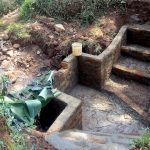 The Water Project: Mutao Community, Shimenga Spring -  Spring Protection Progress