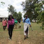 The Water Project: Mukhuyu Community, Kwawanzala Spring -  Going To The Spring