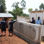 The Water Project: Musasa Secondary School -  New Latrines