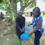 The Water Project: Eshiakhulo Community, Kweyu Spring -  Practicing Handwashing