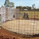 The Water Project: Munyanza Primary School -  Tank Construction