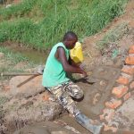 The Water Project: Musango Community, Mushikhulu Spring -  Pitching Stones