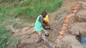 The Water Project:  Pitching Stones
