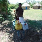 The Water Project: Mukhuyu Community, Kwakhalakayi Spring -  Construction