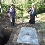 The Water Project: Eshiakhulo Community, Asman Sumba Spring -  Sanitation Platform