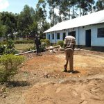 The Water Project: Nambilima Secondary School -  Tank Foundation