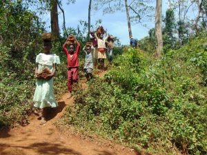 The Water Project:  Carrying Bricks Down To The Spring