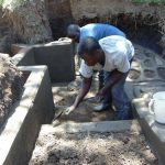 The Water Project: Malava Community, Ndevera Spring -  Spring Construction