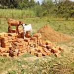 The Water Project: Mukhuyu Community, Kwawanzala Spring -  Bricks For Construction