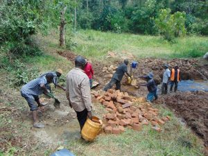 The Water Project:  Construction
