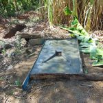 The Water Project: Malava Community, Ndevera Spring -  Sanitation Platform